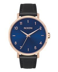 Nixon Arrow Leather 3 Watch - Blue