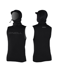 O'Neill ThermoX Hooded Rash Vest - Black