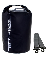 Overboard 30 Litre Dry Tube Bag - Black