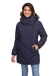 Roxy Abbie Tech Jacket - Peacoat