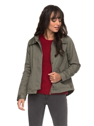 Roxy Sunrise Jacket - Dusty Olive