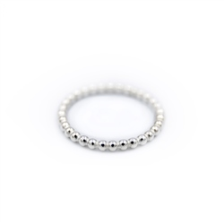 Sadie Jewellery Small Bubble Ring - Silver