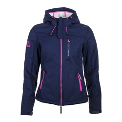 Superdry Windtrekker Jacket - Navy & Ecru