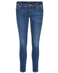Vero Moda Five Ankle Jeans - Denim Blue
