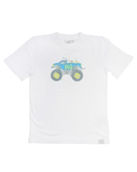 ACS Clothing Truck T-Shirt in White