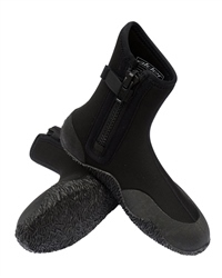 Alder Junior Zip Boots in Black