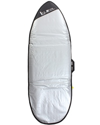"Alder 10mm 6'3"" Fish Boardbag in Multi"