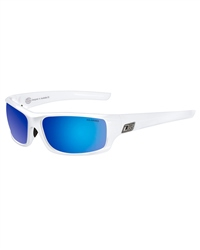 Dirty Dog Clank Sunglasses in White & Blue