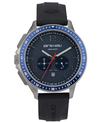 Animal T44 Watch in Black & Blue