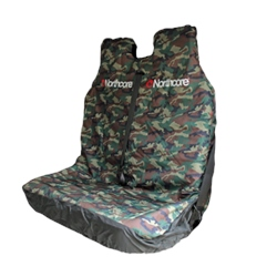 Northcore Waterproof Double Seat Cover - Camo