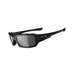 Oakley Fives Squared Polarised Sunglasses - Black