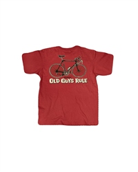 Old Guys Rule Cranky T-Shirt - Red