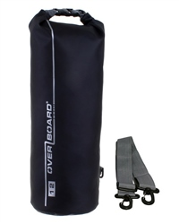 Overboard 12 Litre Dry Tube Bag - Black