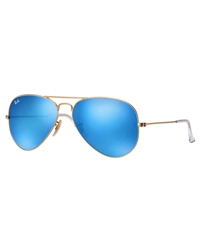 Ray-Ban Aviator Metal Sunglasses - Blue