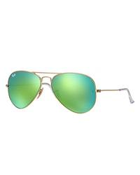 Ray-Ban Aviator Metal Sunglasses - Green