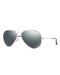 Ray-Ban Aviator Metal Sunglasses - Grey