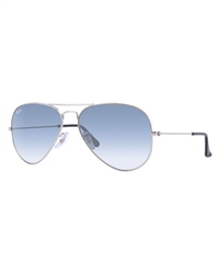 Ray-Ban Aviator Metal Sunglasses - Light Blue