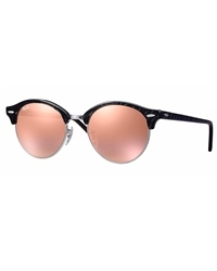 Ray-Ban Clubround Sunglasses - Rose Gold
