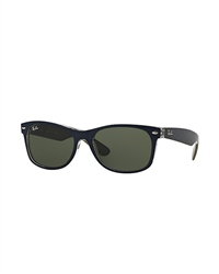Ray-Ban New Wayfarer Bicolour Sunglasses - Blue & Green