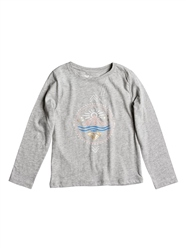 Roxy Hello Kid T-Shirt - Heritage Heather