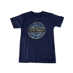 Sex Wax Distress T-Shirt - Navy