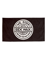 Sex Wax Logo Towel - Black