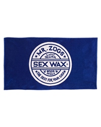 Sex Wax Logo Towel - Blue