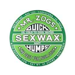 Sex Wax Quick Humps Wax - Green (Cool to Mid Warm)