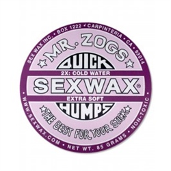 Sex Wax Quick Humps Wax - Purple (Cold to Cool)