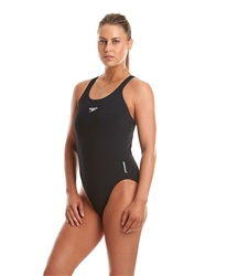 Speedo Ladies Medalist End Swimsuit - Black