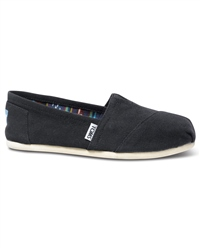 Toms TOMS Classic Canvas Slip Ons - Black