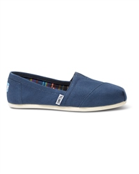 Toms TOMS Classic Canvas Slip Ons - Navy