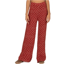 Amuse Society Bright Side Trousers - Red