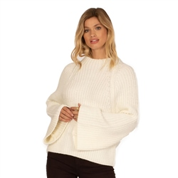 Amuse Society Lucca Sweater - Casablanca