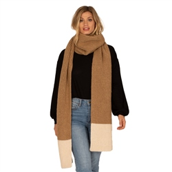 Amuse Society Cozy Up Scarf - Brown