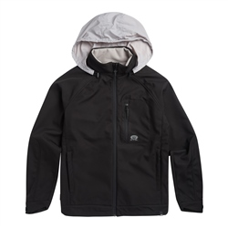 Animal Yukon Zipped Fleece - Black