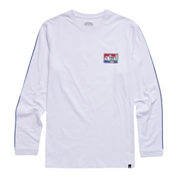 Animal Nold T-Shirt - White, Red & Blue