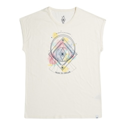 Animal Crystal Wings T-Shirt - Coconut Cream