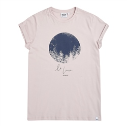 Animal La Luna T-Shirt - Ashes Of Roses Grey