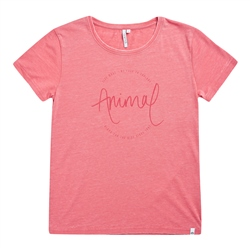 Animal Retreat T-Shirt - Mineral Red Marl