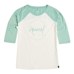 Animal Washout T-Shirt - Wasabi Green