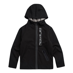 Animal Maxx Zipped Hoody - Black