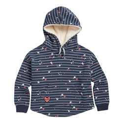 Animal Sparks Hoody - Indigo Blue