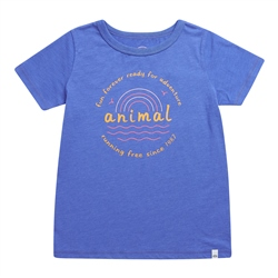 Animal Horizon T-Shirt - Amparo Blue Marl