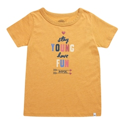 Animal Shine T-Shirt - Golden Glow Yellow Marl