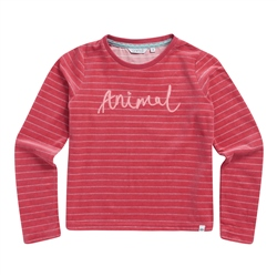 Animal Softly T-Shirt - Slate Rose Pink