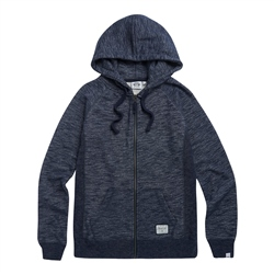 Animal Roo Zipped Hoody - Sky Captain Blue Marl