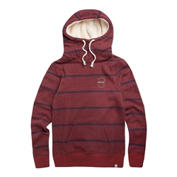 Animal Wrapped Up Hoody - Mineral Red