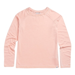 Animal Simple Sweatshirt - Rose Dust Pink Marl