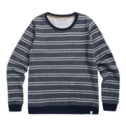 Animal Stripes Sweatshirt - Sky Captain Blue